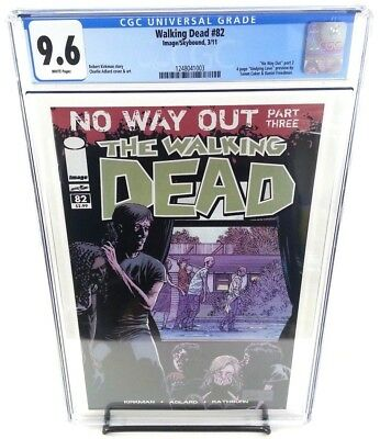 The Walking Dead #82 CGC 9.6