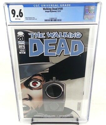 The Walking Dead #103 CGC 9.6