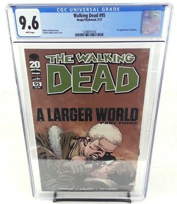 The Walking Dead #95 CGC 9.6 1st Appearance of Gregory