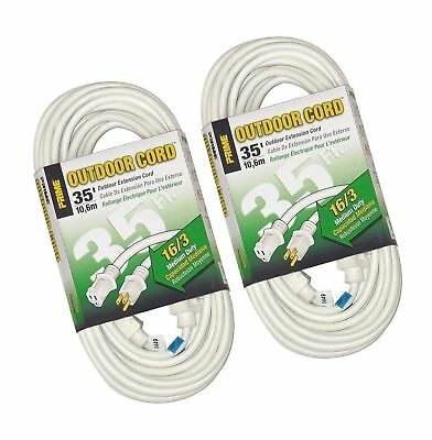 Prime Wire & Cable EC883627 35-Foot 16/3 SJTW Patio and Deck Extension Cord,