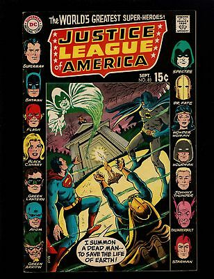 Justice League Of America 83 F+ 6.5 Hourman Dr. Fate Flash Atom Earth 1 & 2 Swan