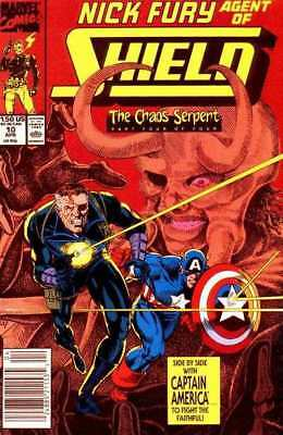 Nick Fury: Agent of SHIELD (1989 series) #10 in NM condition. Marvel comics