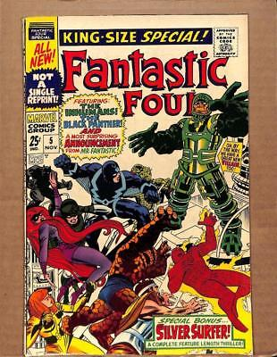 Fantastic Four Annual # 5 - HIGHER GRADE - Reed Richards Human Torch MARVEL