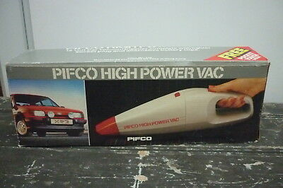 Pifco High Powered Car Vac XR2 Picture Boxed with Accessories & Manual