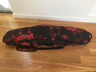 snowboard bag Burton, red and black, like new, 145cm