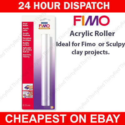 Fimo Sculpey 8700 05 Acrylic Roller Rolling Pin Accessory For Modelling Clay