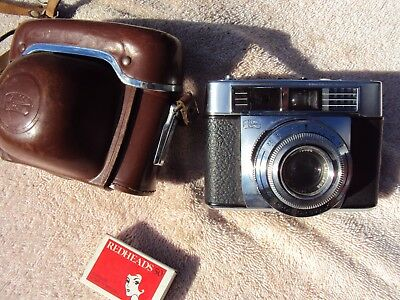 """ZEISS IKON 35mm """"CONTESSA LKE""""  VINTAGE CAMERA 1963/65 WITH ZEISS PRONTOR LENS"""