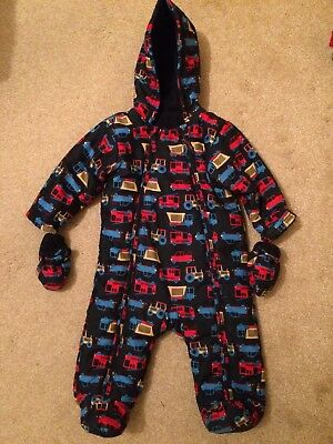 M&S Marks and Spencer's Snowsuit 9-12 Months excellent condition