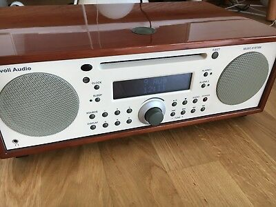Tivoli Audio Music System FM/AM/ CD HiFi System Kirsche/ Beige