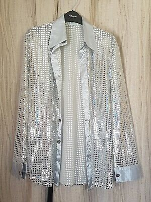 Silver Sequinned Shirt