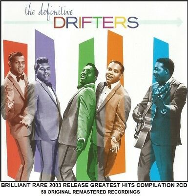 The Drifters The Very Best Essential Greatest Hits Collection RARE Soul Pop 2CD