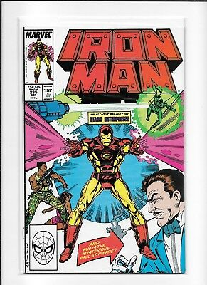 Iron Man #235 Higher Grade (8.0) Marvel