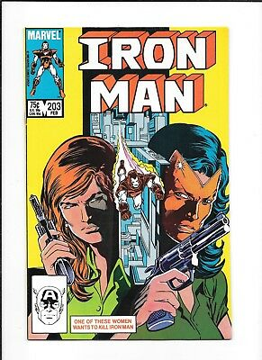 Iron Man #203 Decent (7.0) Marvel