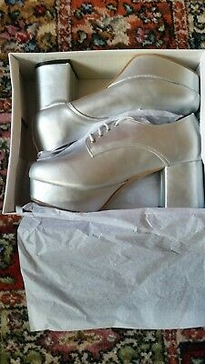 70s Fancy dress Platform shoes Size 9