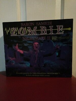 Nightmare II Zombie VHS VCR Board game expansion Nightmare sequel