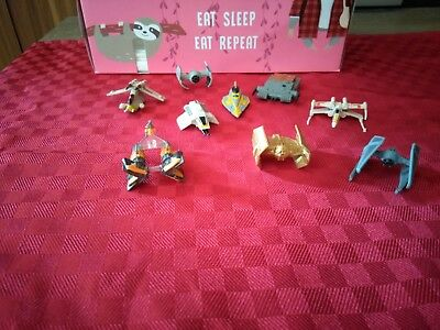 Star Wars Micromachines Goldserie