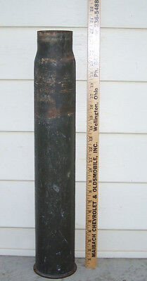 1943 US Navy 3-Inch 50 Caliber Mk9 Shell Casing ~ Trench Art Plant Holder