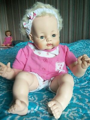 "1961 Big Madame Alexander Kitten Baby Doll about 23"" VERY Cuddly!"