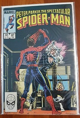 Peter Parker The Spectacular Spiderman 87 - Marvel Comics
