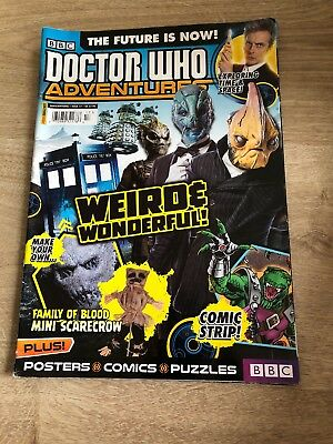 Doctor Who Adventures 17 LISTING ONCE ONLY, THEN ITS GONE