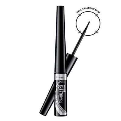 Rimmel Scandaleyes Bold Intense Glossy Liquid Eyeliner Waterproof - Black