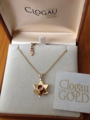 e47d9d6a6 CLOGAU WELSH 9CT Yellow & Rose Gold Queen Eleanor Necklace - £350.00 ...