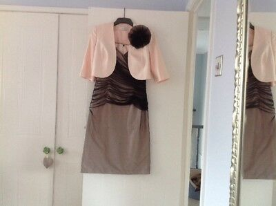 Condici Wedding Outfit . Dress And Jacket Size 12, Mother Of The Bride