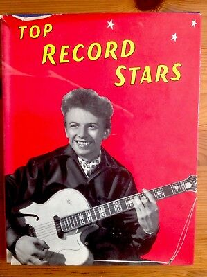 Top Record Stars Original 1957 Annual Excellent Internal - Torn Dust Jacket