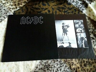 LP AC/DC Back In Black Atlantic ATL 50 735 Atlantic SD16018 Germany 1980 @@@@@@@