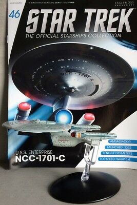 STAR TREK Official Starships Magazine #46 U.S.S. Enterprise NCC-1701-C Eaglemoss