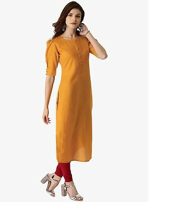 Women Long Dress Pure Cotton Material Work and Casual Wear dress. Tops