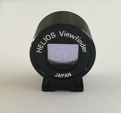 Helios optical viewfinder with 35mm, 85mm and 135mm frames