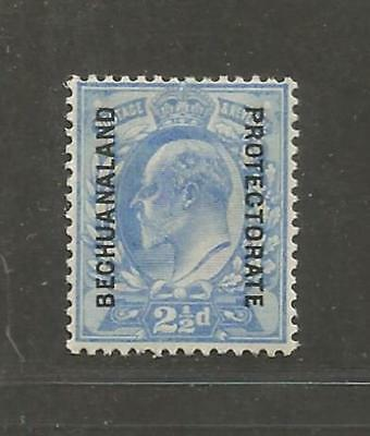 Bechuanaland Protectorate 1904 King Edward VII  1904 unused -  see scan