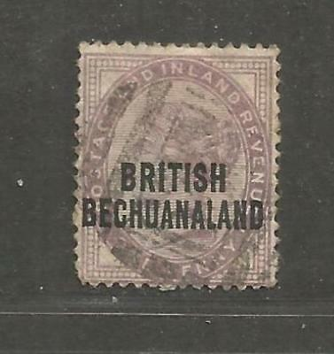British Bechuanaland 1891 Queen Victoria One Penny lilac III - see scan