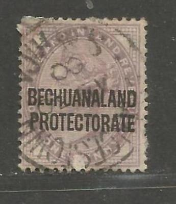 British Bechuanaland 1897 Queen Victoria 1d lilac II -  see scan