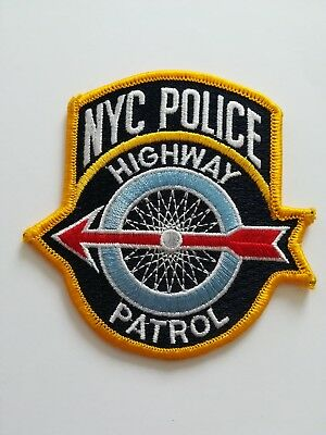 Abzeichen Ärmelabzeichen Patch NYPD New Yoek Police Department Highway Patrol