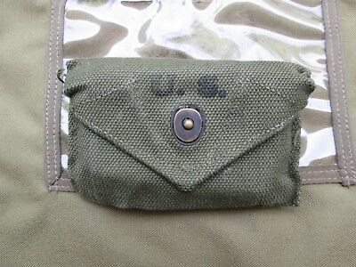 WWII WW2 US Army first aid carlisle pouch m1923  m1942 military