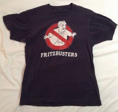 1984 Fritzbusters T-shirt GOP Anti-Dem Reagan Mondale conservative Ghostbusters