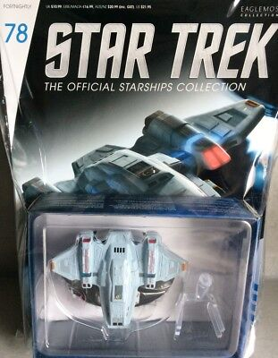 STAR TREK Official Starships Magazine #78 USS Voyager Aeroshuttle Eaglemoss engl