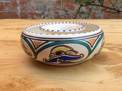 Honiton Pottery, Posey Ring. Art Deco