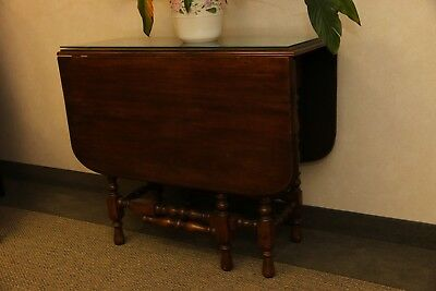 Drop leaf table vintage 1920s-1930s LOCAL PICKUP ONLY SOUTHERN NJ