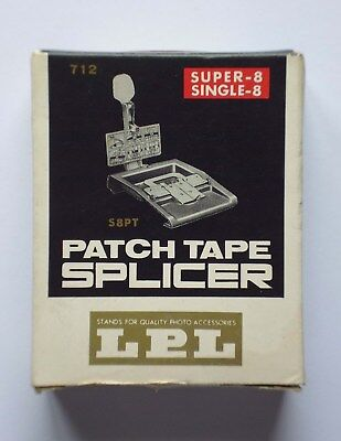 LPL Patch Tape Splicer 712 Super 8 & Single 8 - item in great vintage condition.