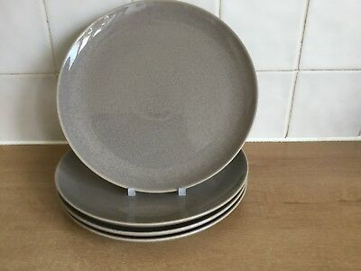 Denby Light and Shade Parchment 4 x 22 cm Salad Plates