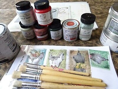 Stencils & Chalk Paint / Upcylcers Job Lot / Shabby Chic