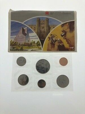 1986 Royal Canadian Mint Coins