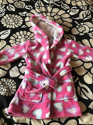 Girls Dressing Gown 18-24 Months BHS