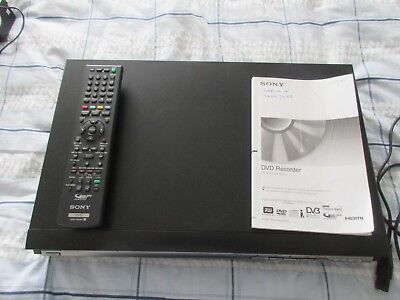 Sony Rdr-Hxd870 Hdd/dvd Recorder, 160Gb Hdd, Dvb, Hdmi With Remote & Manual