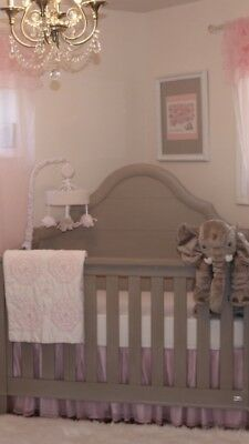 Pottery Barn Kids Veronica Quilt And Crib Skirt