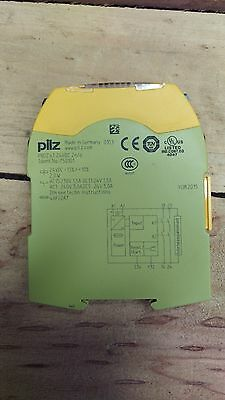 Pilz Safety Relay 750101, DPST-NO, 24 VDC, 3 A, PNOZ s1 Series, DIN Rail, Screw