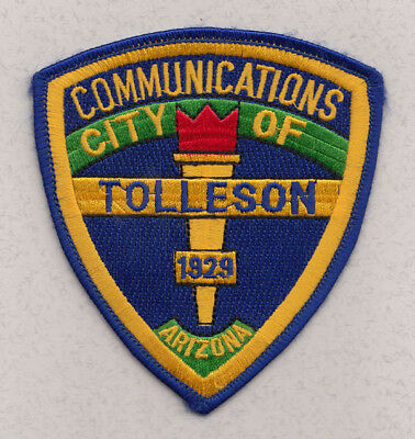 H17 * Old Communications Tolleson Arizona State Highway Police Patch *